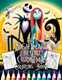 The Nightmare Before Christmas Coloring Book: High Quality Images For Kids And Adults | New Coloring Pages