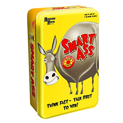 Smart Ass Card Game Tin: Toys & Games