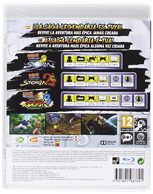 Naruto Shippuden Ultimate Ninja Storm Collection: Amazon.es ...