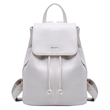 d101388b748d Genuine Leather Mini Backpacks for Women Cute Travel Bags Small Purse for  Girls (9.06 quot