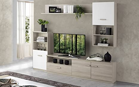 Dafnedesign - Salón modular,- 270 x 42 x 205 cm: Amazon.es ...