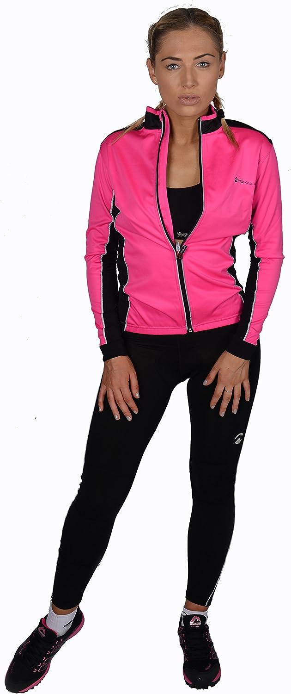 Piu Miglia More Mile Thermique pour Femme Noir Cyclisme pour Femme pm2222