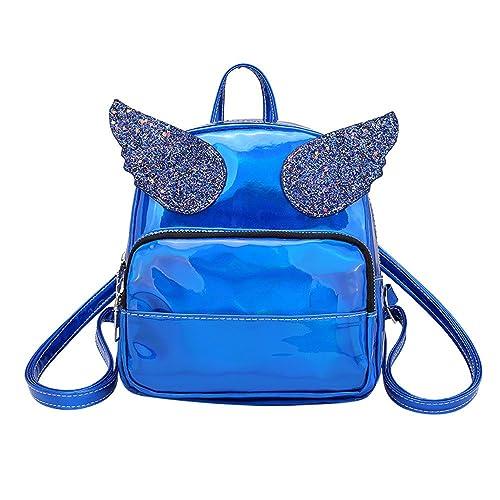 STRIR-Mochila Mochilas escolares mochilas mujer universidad casual, mujer pequeñas mochilas niña con Lentejuelas