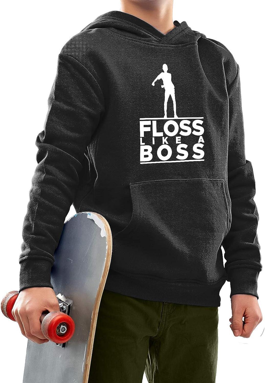 Floss Like a Boss Sweat /à capuche officiel pour gar/çon
