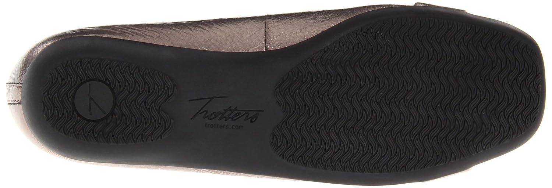 Trotters B0073E6K4Q Women's Sizzle Signature Ballet Flat B0073E6K4Q Trotters 9.5 N US|Metallic Pewter d3d514