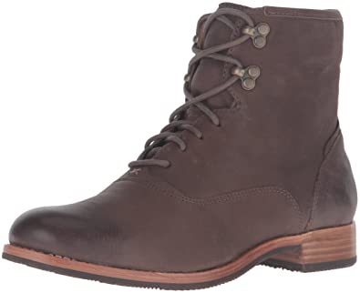 Sebago Women's Jane Mid Chukka Boot, Dark Taupe Leather, ...