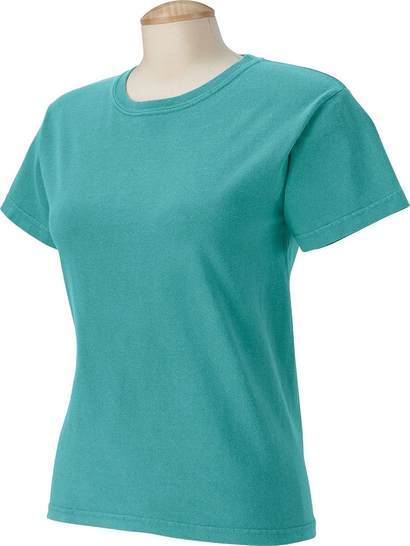 Comfort Colors womens 5.4 oz. Ringspun Garment-Dyed T-Shirt (C3333)