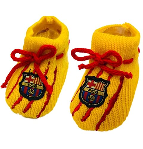 Patucos FC Barcelona Amarillos: Amazon.es: Zapatos y ...