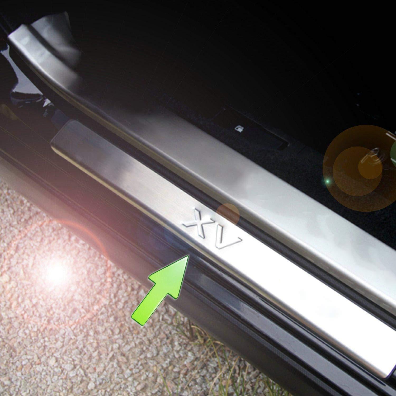 Sunsun Illuminated Door Sill Scuff Plate Cover for Volkswagen Vw Tiguan 2009-2015