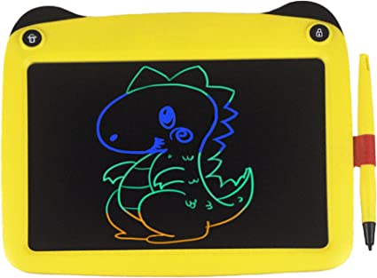 8.5 Inch The Best Early Childhood Education Electronic Drawing Tablet For Kids Yellow