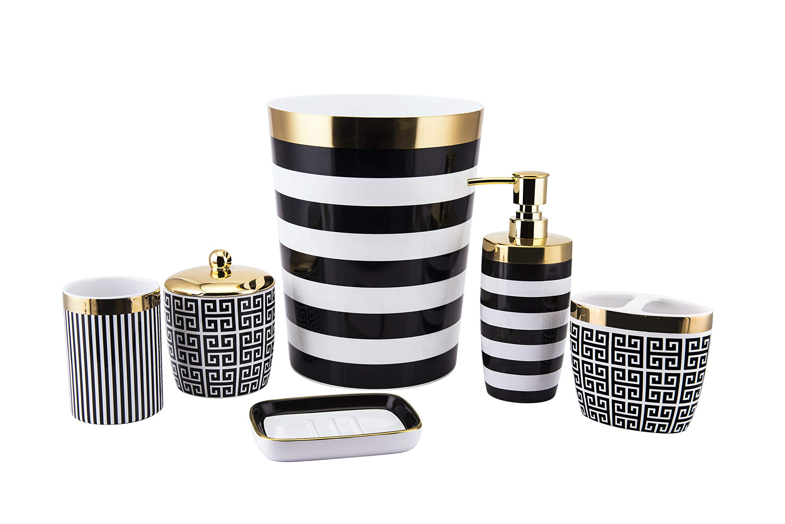 Allure Home Creations Derby Tumbler Black