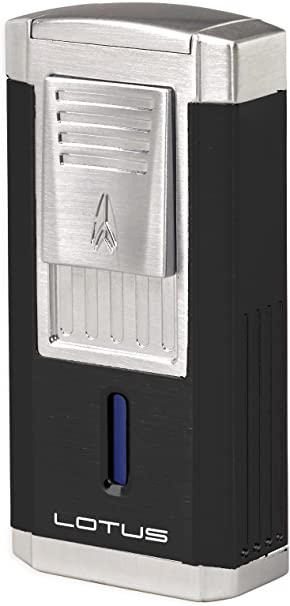 Lotus 60 Cigar Lighter Black Matte L6000 Duke