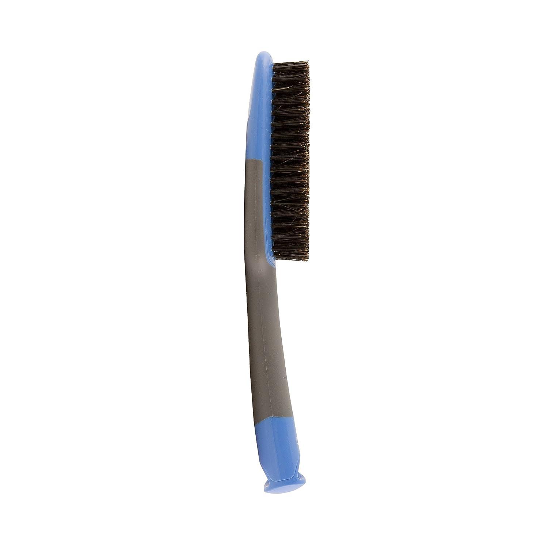 Amazon.com : Goody Straight Talk Boar and Nylon Styler Hair Brush, Blue/Grey (Pack of 3) : Beauty
