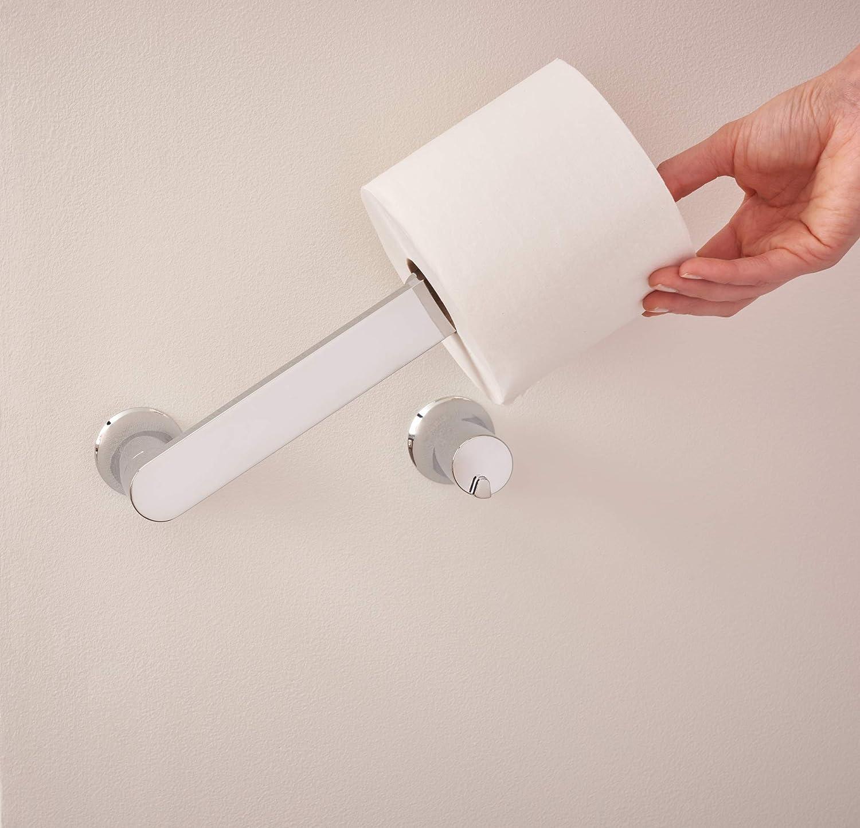 Moen BH3808CH Genta Pivoting Toilet Paper Holder Chrome