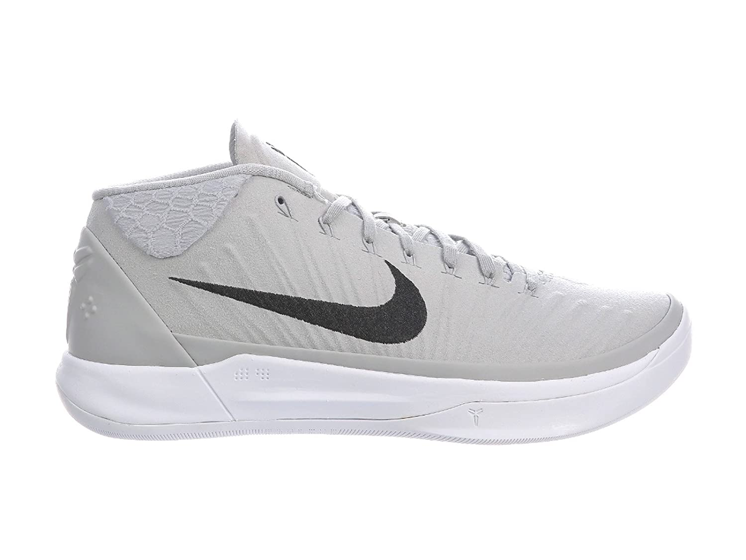 NIKE Men's Kobe A.D. Nylon Basketball Shoes B00D3RGXFS 14 D(M) US|Wolf Grey/Black/White