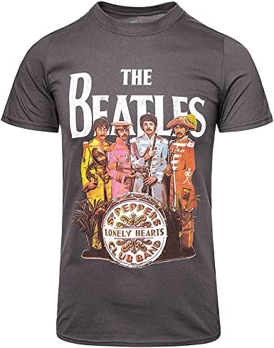 Ill Rock Merch - Camiseta - Hombre - The Beatles - SGT. Peppers (Camiseta): Amazon.es: Ropa y accesorios