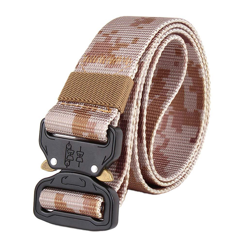 Ballad Training Belt,Nickel Free,Daily Use,No Metal,Security Friendly (Khaki)