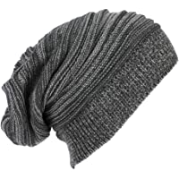 Beanie Hombre Mujer Invierno Sombrero de Punto Slouch Beanie Cálido Unisex Sombrero Beanie Grueso Respirable Gorra Suave…