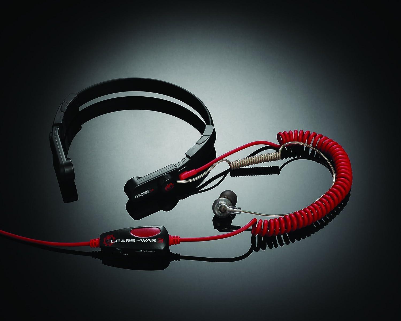 Amazon.com: Mad Catz Gears of War 3 Throat Communicator for Xbox 360 ...