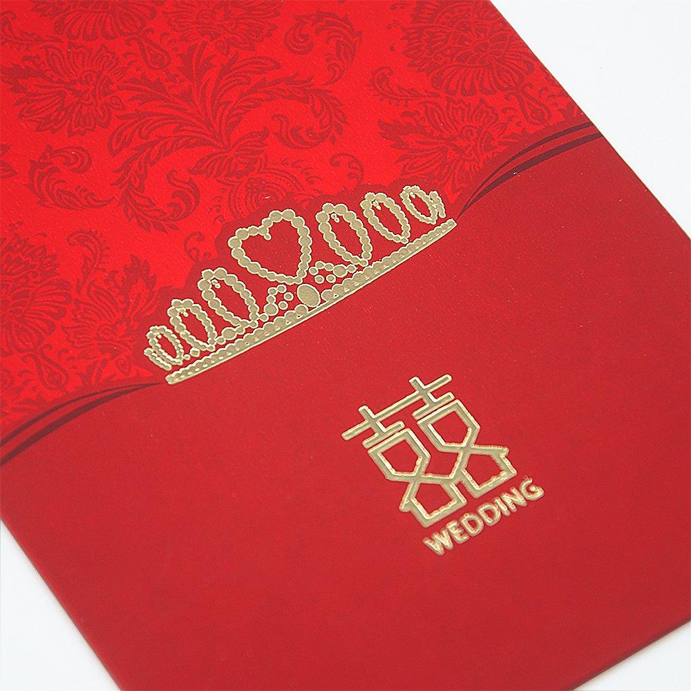 Amazon Traditional Chinese Wedding Gift Red Envelopes Pocket