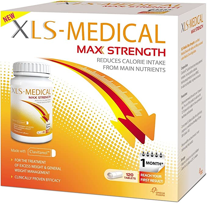 Amazon.com: XLS Medical Max Strength - ONE MONTH - 120 Tablets by ...