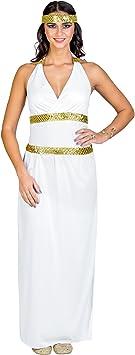 TecTake dressforfun Disfraz para Mujer de la Diosa Reina | Vestido ...