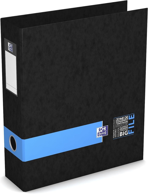 Oxford 28/x 32/cm 400102181/Big Student File Lever Arch File Spine 8/cm Blue