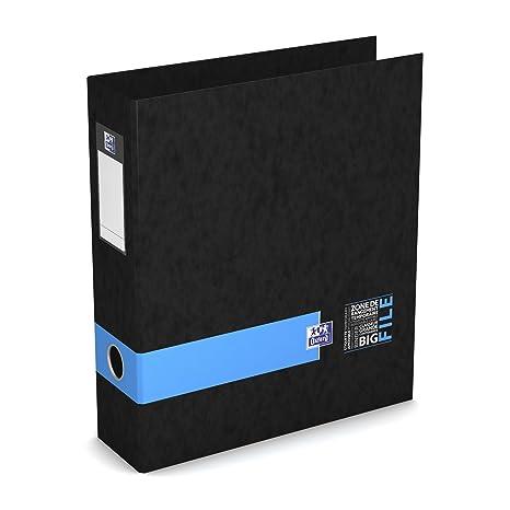 Oxford 400102181 Big File estudiantes archivador de palanca 28 x 32 cm Ancho 8 cm azul