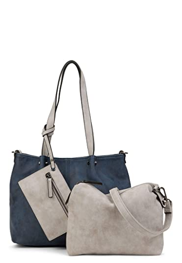 EMILY & NOAH Damen Handtaschen Shopper Bag in Bag Surprise 299