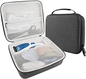 LUEXBOX Hair Trimmers Case - Hair Clippers 9649 Case fits Wahl Color Pro Cordless Hair Cutting Kit, Wahl Professional Clipper Travel Case Helper
