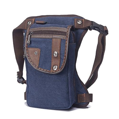 Outreo Riñonera Sport Bag Vintage Bolso de Cintura Carteras Hombre Bolsas de Viaje Bolsos de Tela Gimnasio Bolsa de Pierna Movil Outdoor Deporte: Amazon.es: ...