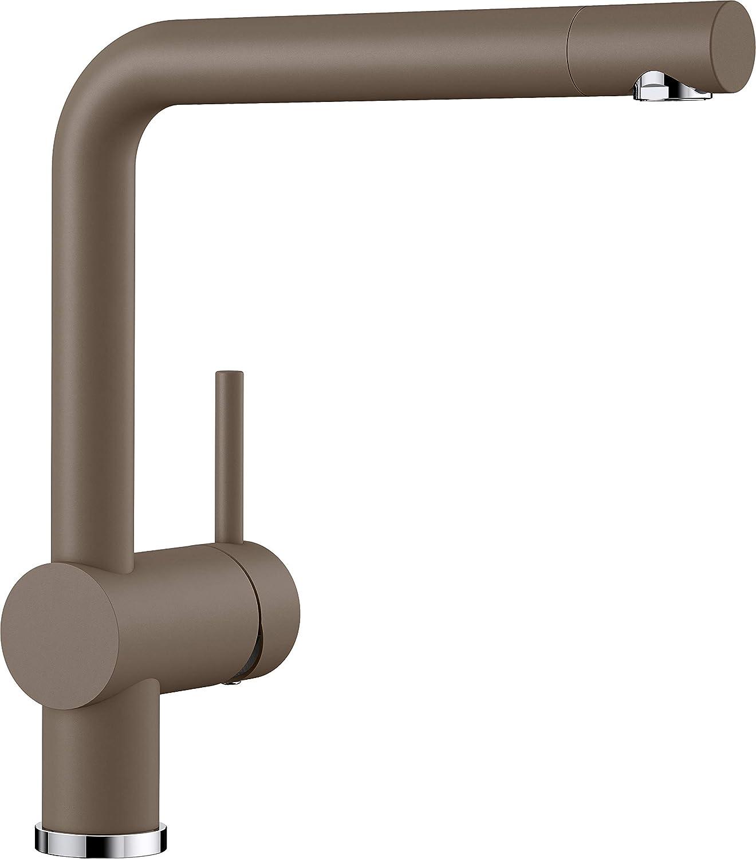 Blanco Linus K/üchenarmatur metallische Oberfl/äche 514020 Niederdruck 1 St/ück chrom