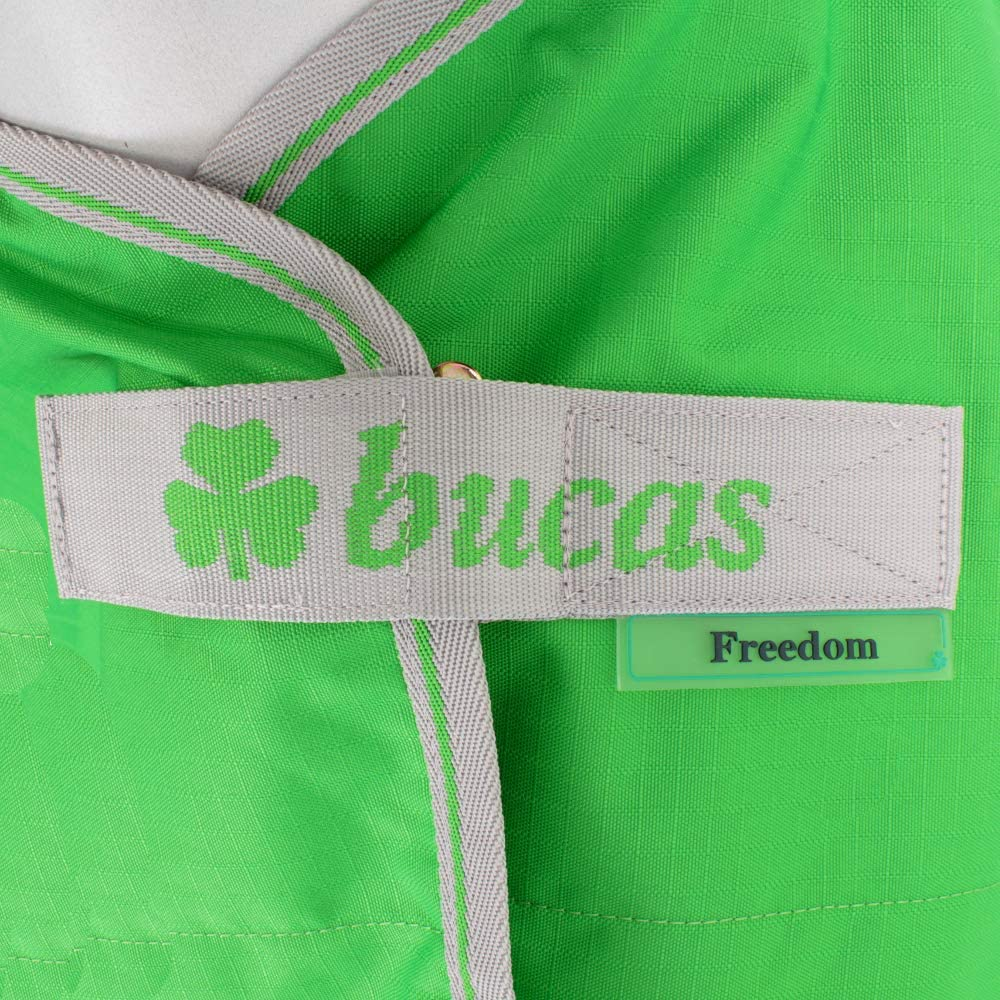 Bucas Freedom Turnout Light Full Neck 0g Classic Green