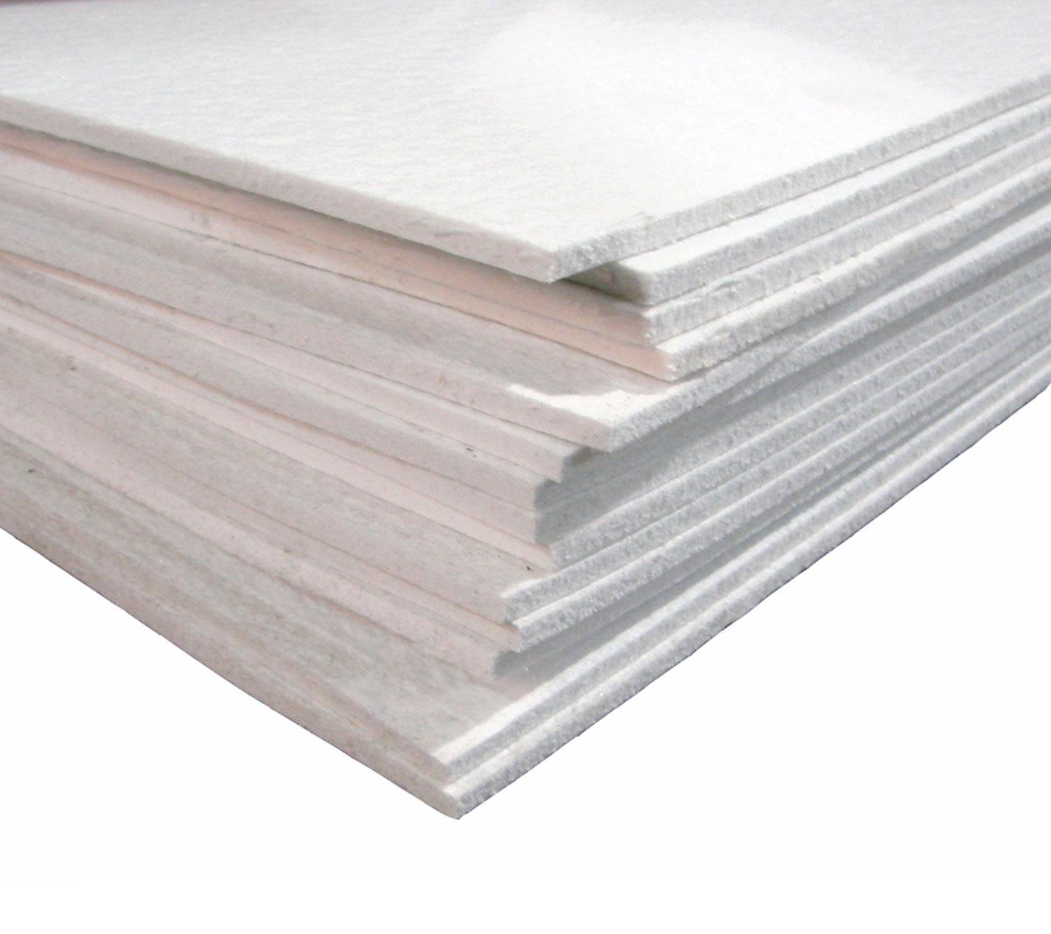 8'' x 12'' Reusable 1/4'' Soft Fiber Shelf Paper for Glass Fusing and Slumping by Generic