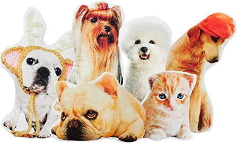 Customized Dog Pillow Personalized Pet Pillow Custom Pet Pillow Pillow Cover Pet Pillow Custom Throw Pillows Cases Cat Portrait Pillow
