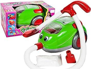 Aspirador para niños prémium Vacuum Cleaner, función de succión de luz, música, Aspirador de Juguetes, Aspirador de Juguete de Alto Factor de diversión como Kroko Doc: Amazon.es: Electrónica