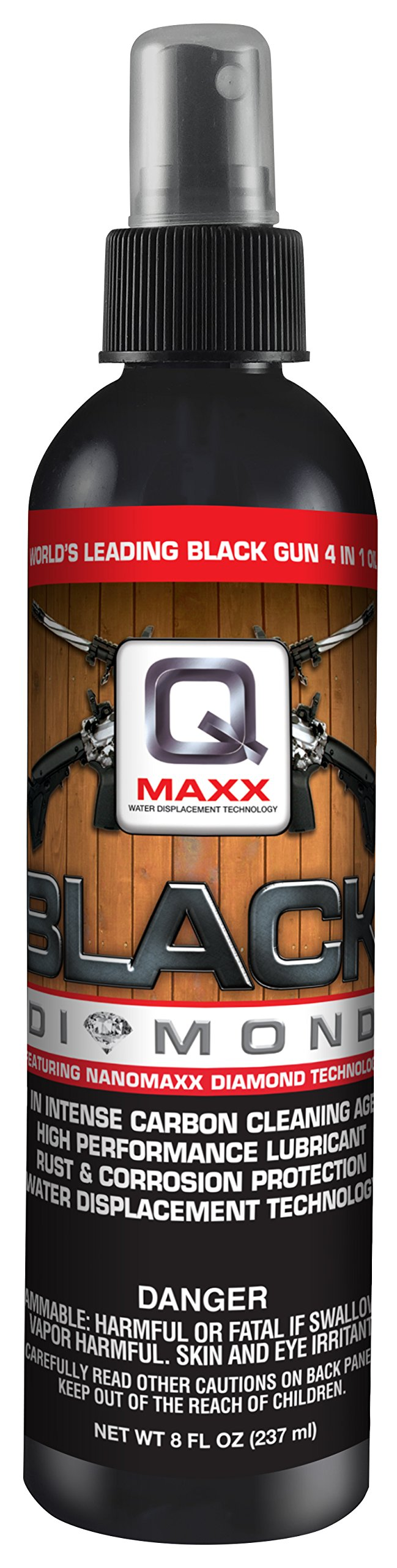 QMAXX Black Diamond Pump Spray, 8 OZ by QMAXX