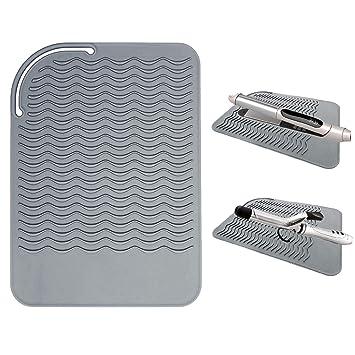 Amazon.com: Alfombrilla de silicona resistente al calor para ...