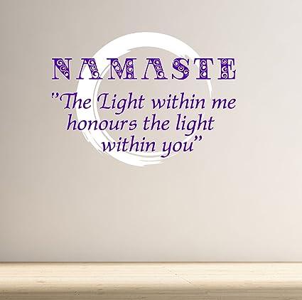 DesignDivil Namaste. La luz en mí honra la luz Dentro de ti ...