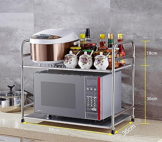 Shelf LYG Estante de Cocina de Acero Inoxidable para ...