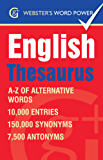 Webster's Word Power English Thesaurus: A-Z of Alternative Words (Geddes and Grosset Webster's Word Power)