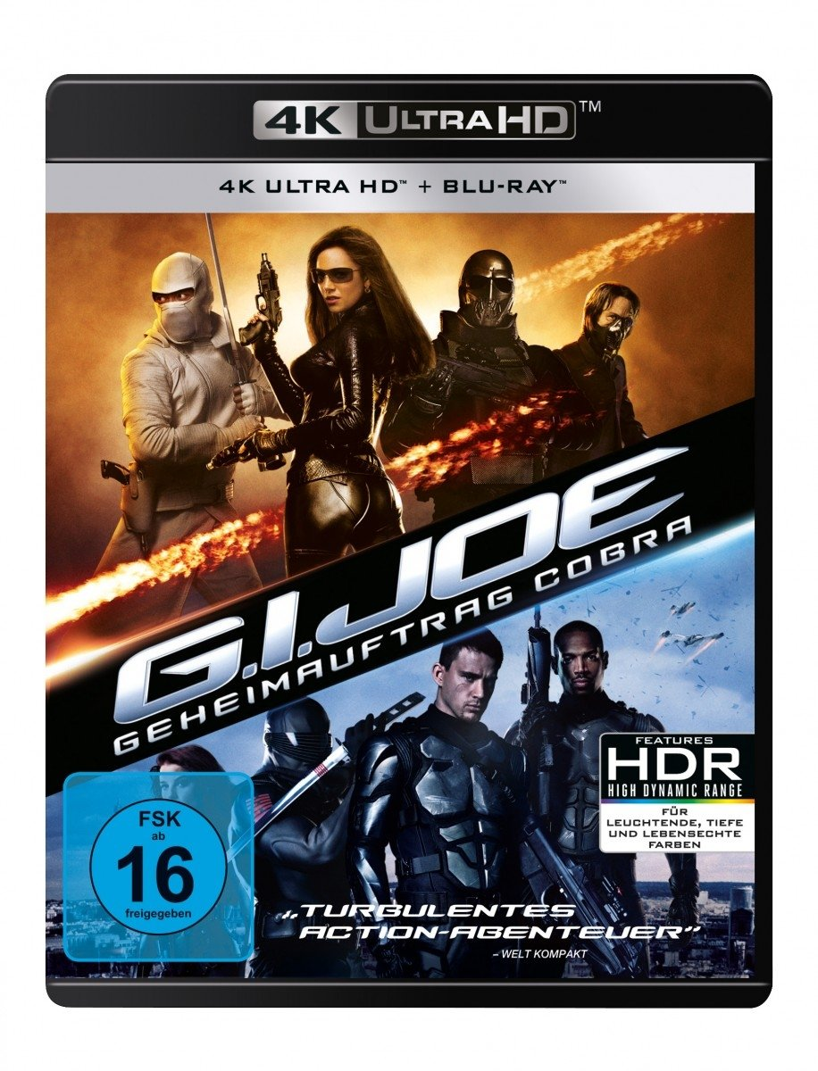 G.I. Joe - Geheimauftrag Cobra 4K Ultra HD + Blu-ray 2D ...