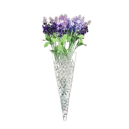Amazon 35 X 10 Large Cone Terrarium Glass Wall Vase Wall