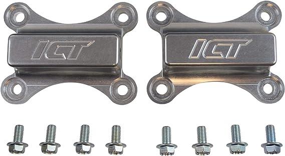 1998-2004 Camaro LS1 Solid Adjustable Race Engine Mounts Plain Steel