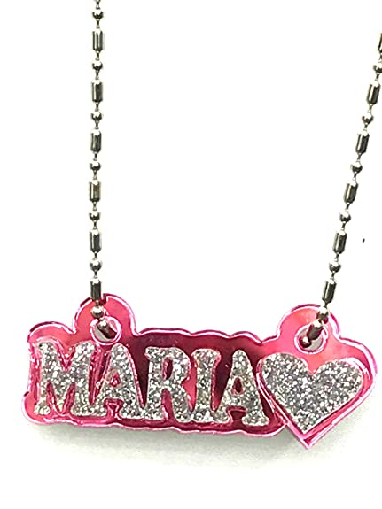 0cea77319 Amazon.com: Mirror Mania Personalized Name Plate Custom Name ...