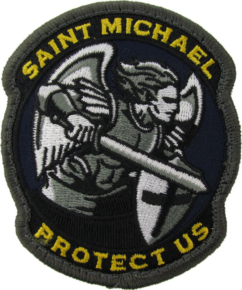 MIL-SPEC Saint Michaels Patch Fullcolor Mil-Spec Monkey