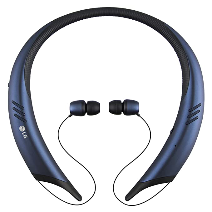 Amazon.com: LG Tone Active+ HBS-A100 Stereo Bluetooth Headset (Certified Refurbished) (Blue): Cell Phones & Accessories