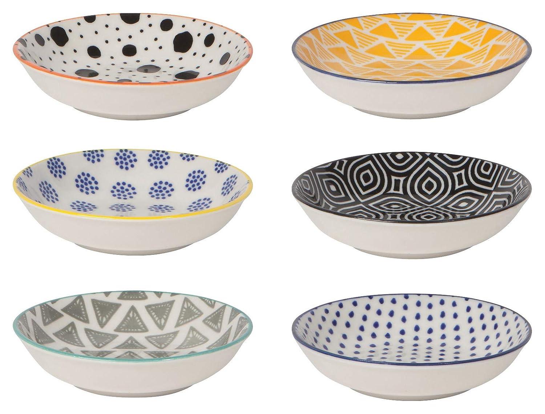 Now Designs Bits & Dots Pinch Bowls, Set of 6
