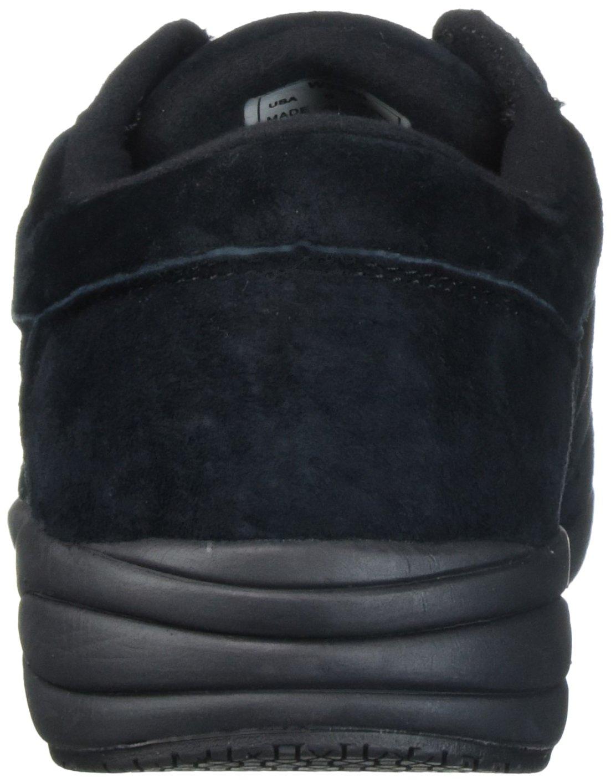 Propet Women's Washable Walker Sneaker B06XSCJ1T5 8.5 N US|Sr Black Suede