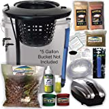 The Atwater HydroPod - DIY Add Your Own Bucket KIT - Dual DWC Deep Water Culture/Recirculating Drip Hydroponic Garden System